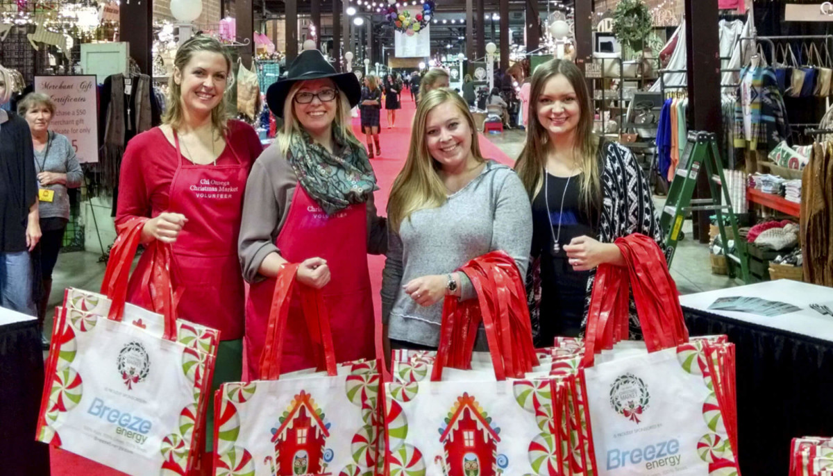 Chi Omega Christmas Market 40th Anniversary Event