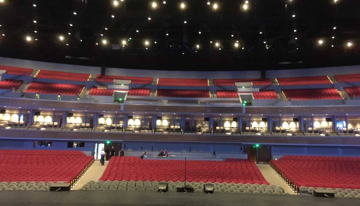 A Smart Arena Sugar Land Venue Gets Ready For Its Opening