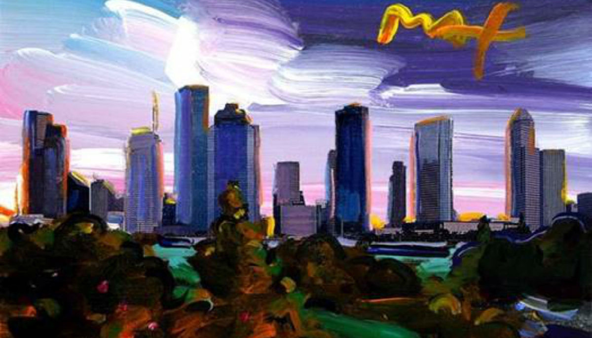 Off The Wall Gallery Presents Peter Max The Retrospective