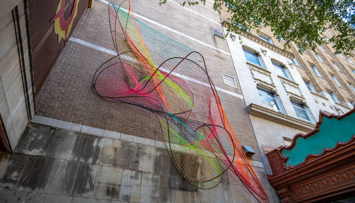 Downtown S New Public Art Installation Captures City S