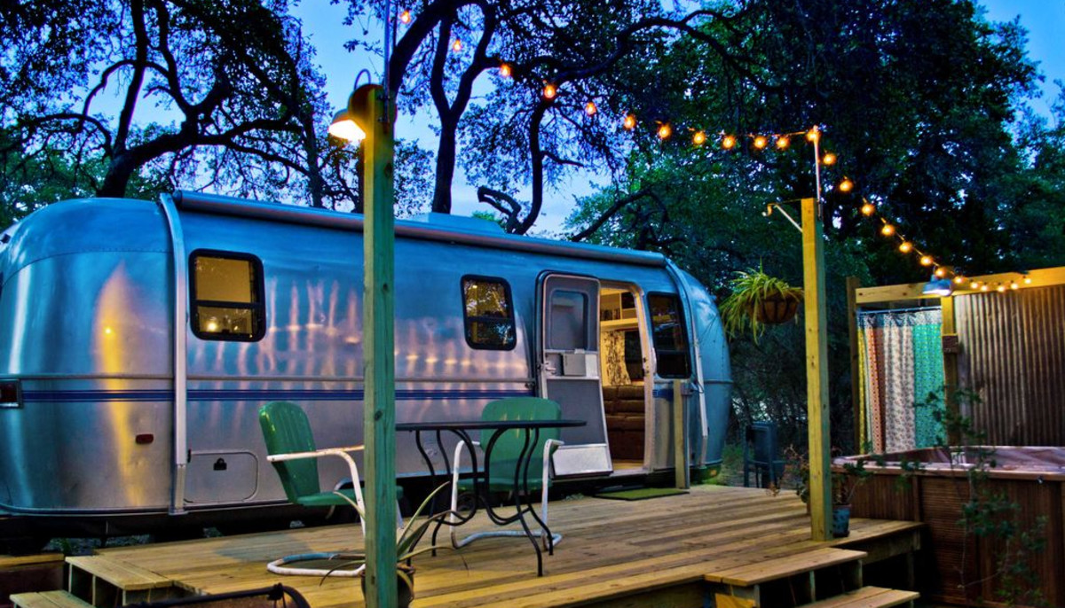 6 Texas getaways featuring Airstream accommodations for vintage