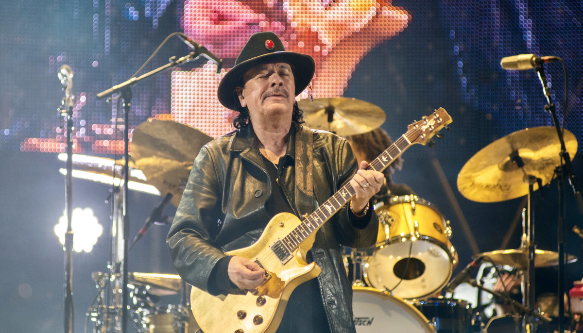 Carlos Santana Masterfully Works His Black Magic At