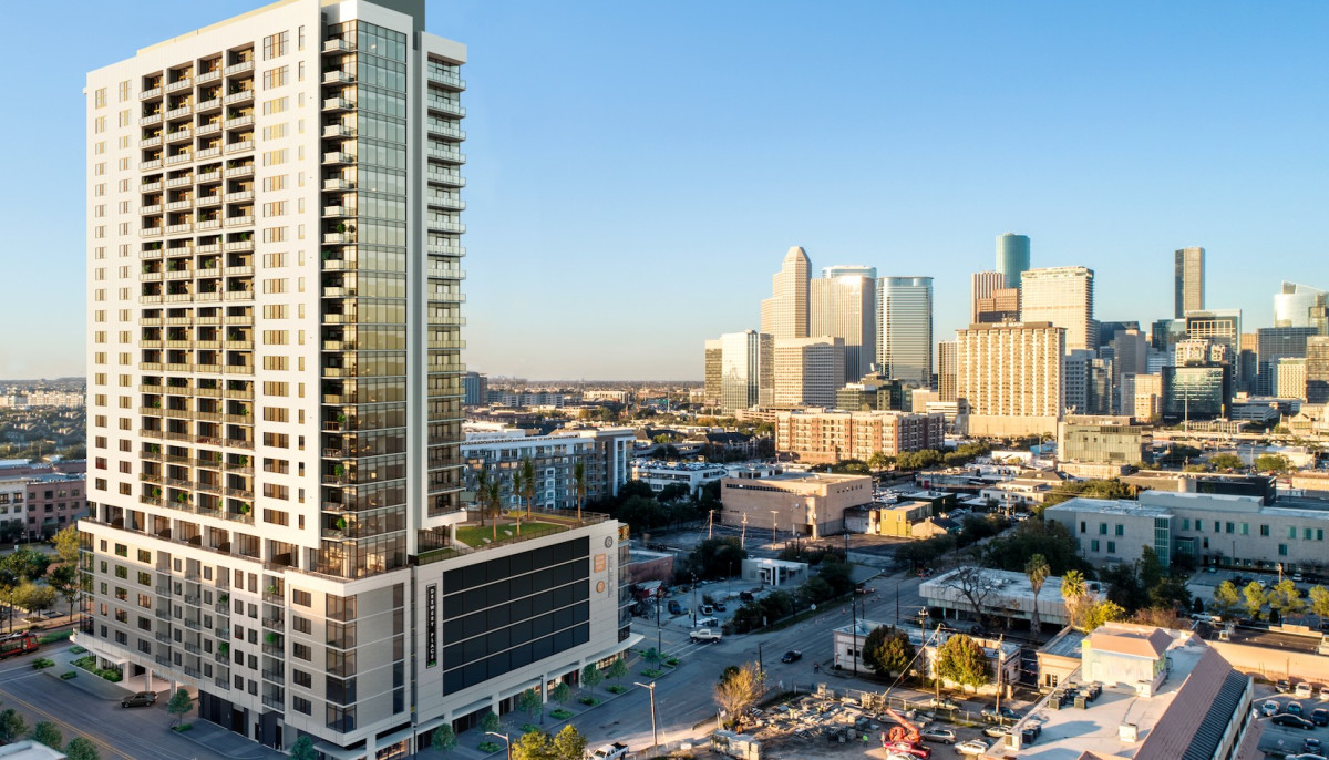 Midtown S First Residential Tower Soars With New Name And Amenities Culturemap Houston