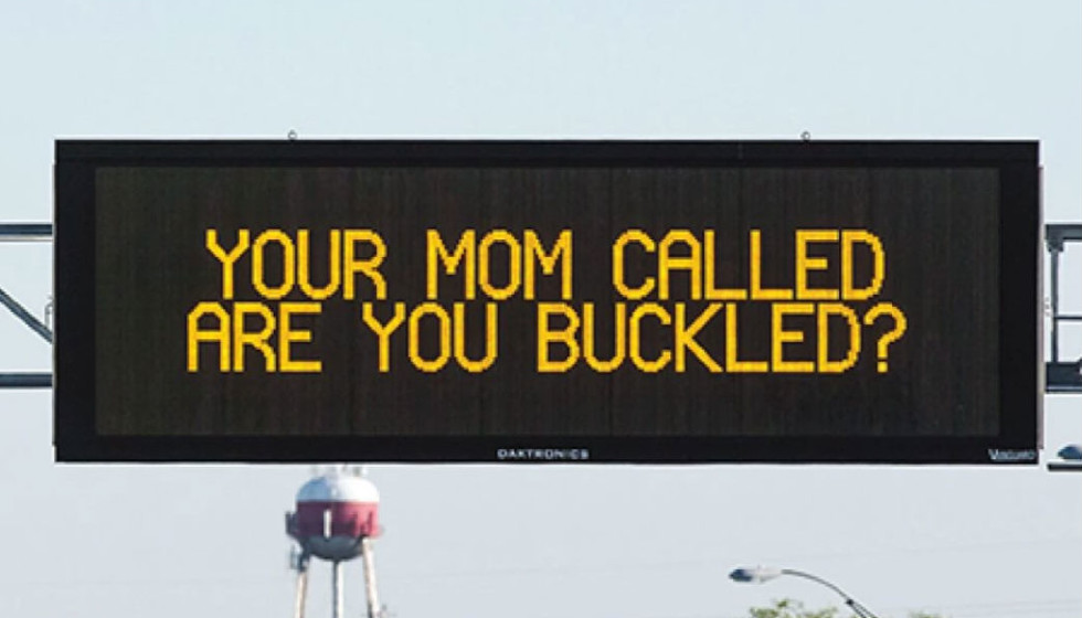 Enter contest to get your clever traffic message on Texas highways
