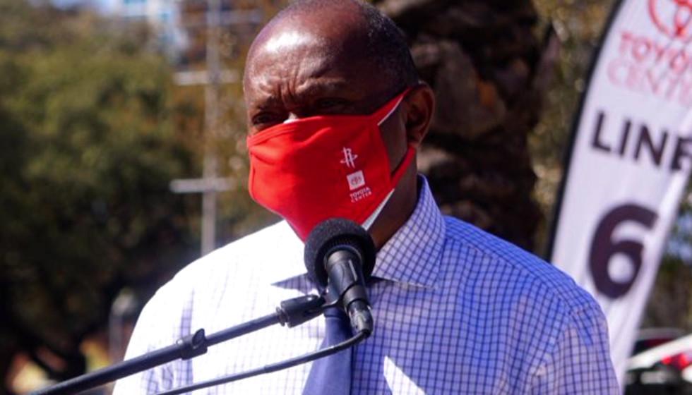 Sylvester Turner mask