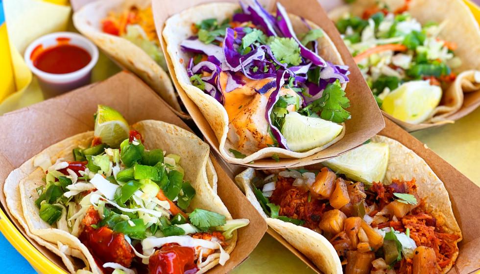 Rusty Taco street tacos