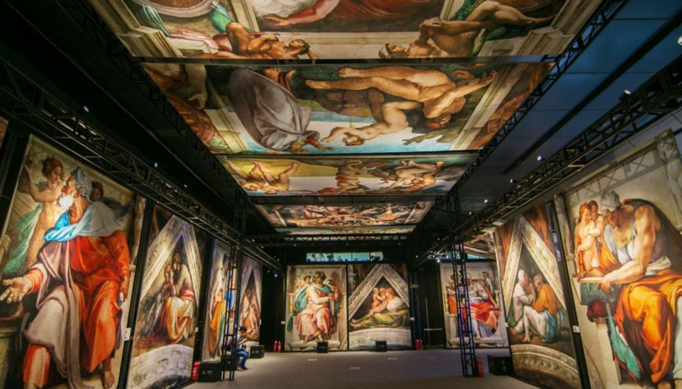 Sistine Chapel exhibit