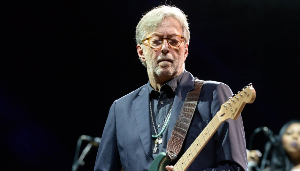 Rock god Eric Clapton strums up Houston performance this fall