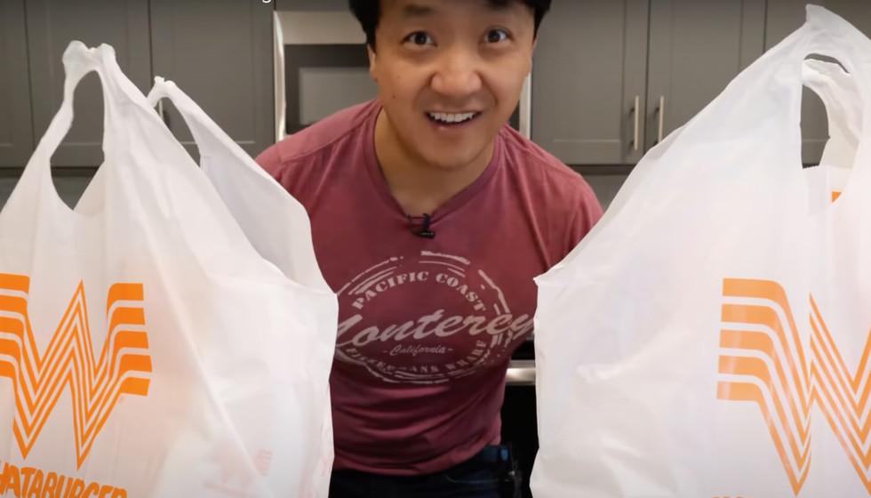 Mikey Chen Whataburger bags