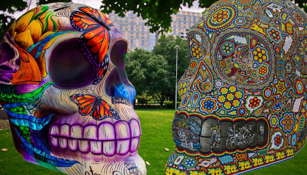 Celebración de Vida by Mexicráneos Disovery Green