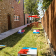 Revelry Kitchen + Bar side yard games