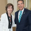 Mission to Mars luncheon 9/16, Dr. Ellen Ochoa, William Harris
