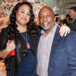 Houston, Legacy Services Holiday Schmooze, Dec 2016, Amanda Goodie, Ron Roberts