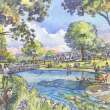 News_Buffalo Bayou_dog park_Studemont and Allen Parkway_rendering