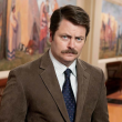 Nick Offerman as Ron Swanson of Parks and Recreation