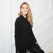 Celine Dion at Dior haute couture runway show Paris