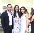 Nick Merchant, Sippi Khurana, Sneha Merchant at APAHA kickoff party at Prada