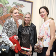 News, Shelby, Heroes & Handbags kick-off, Nov. 2015, Natalie King, Chandra Bonine, Rachel Brown