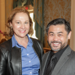 City ArtWorks luncheon Minnette Boesel, Sixto Wagan