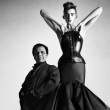 Alaia fragrance at Saks Fifth Avenue with his muse