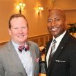 News, Shelby, Morehouse College Father's Day event, June 2015, Pay Purser and Michael Harris