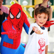 9 Children's Museum with Spiderman Appearance and Silly String Showdown August 2014