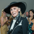 Joan Schnitzer Levy at Oscar de la Renta fashion show at MFAH