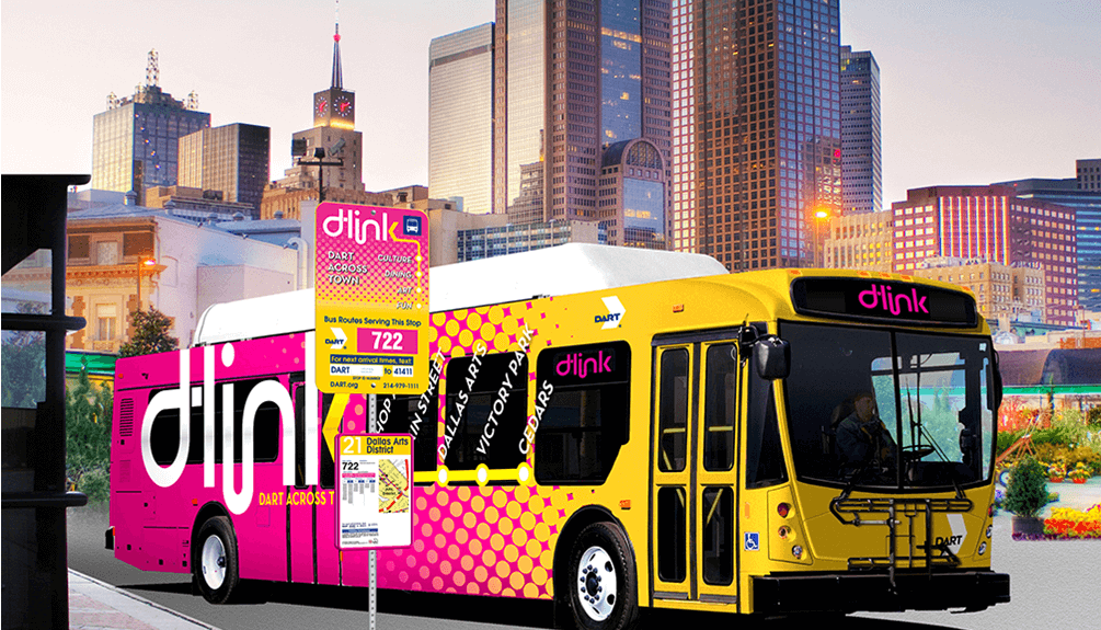 Downtown Dallas D-Link bus route expands to 7 days a week ... on dallas railroad map, dallas county tx map, dallas rail map, dallas metro map, dallas tollway road map, dallas city council district map, dallas trolley route, dallas orange line map, dallas drive map, dallas street map, dallas bart map, dallas trolley map, dallas trolley expansion, dallas interurban map, dallas city hall map, dallas transit map, dallas bike map, city of dallas ga map, dallas museum map,