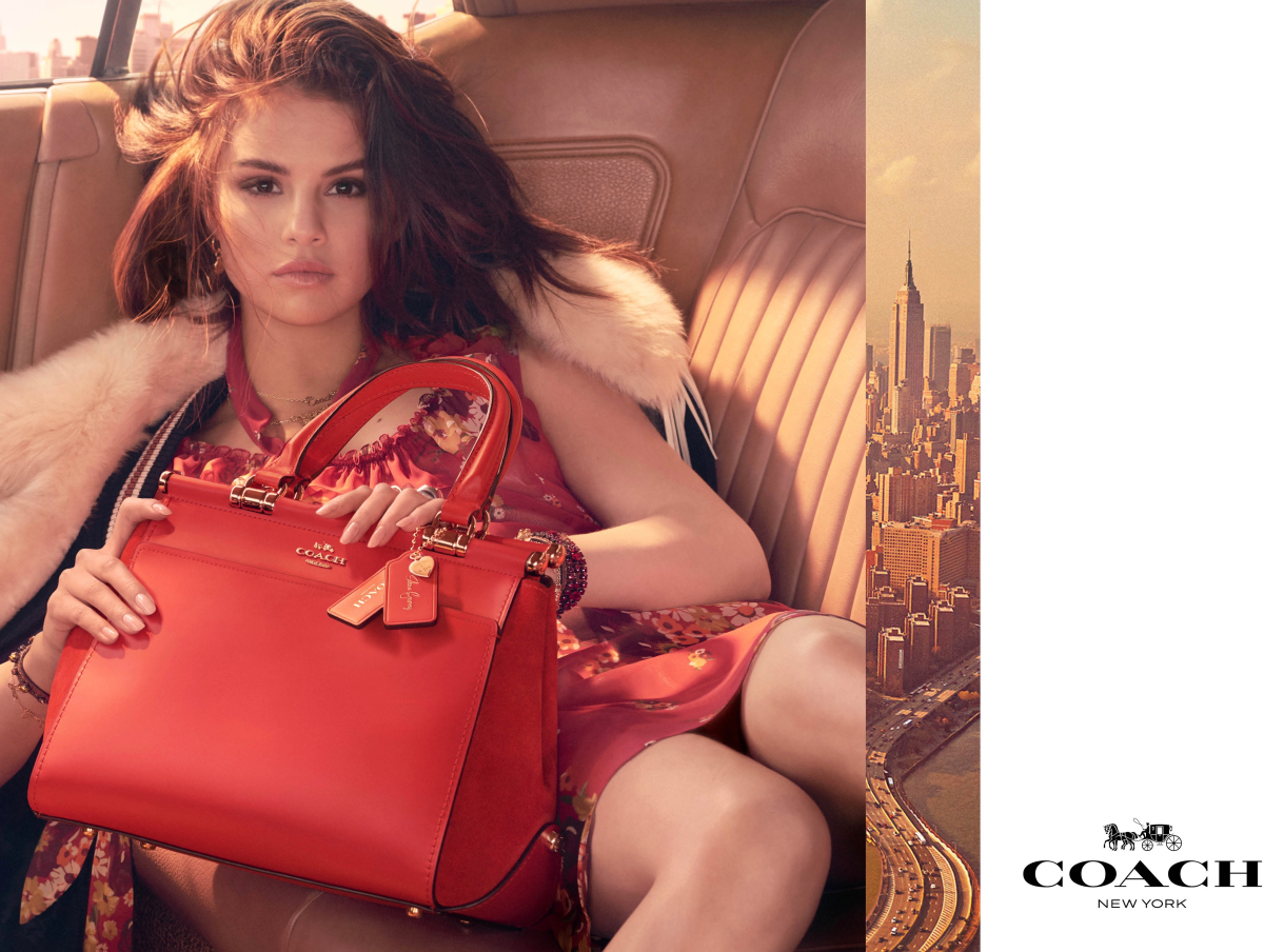 Selena Gomez takes on new role as handbag designer with inspiration ... e71a6f1452f8f