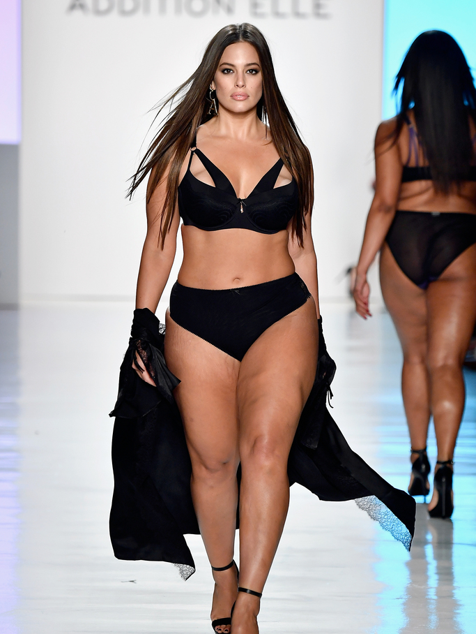 5e488e27c5 Ashley Graham and other curvy models rule the runway at fashion week ...