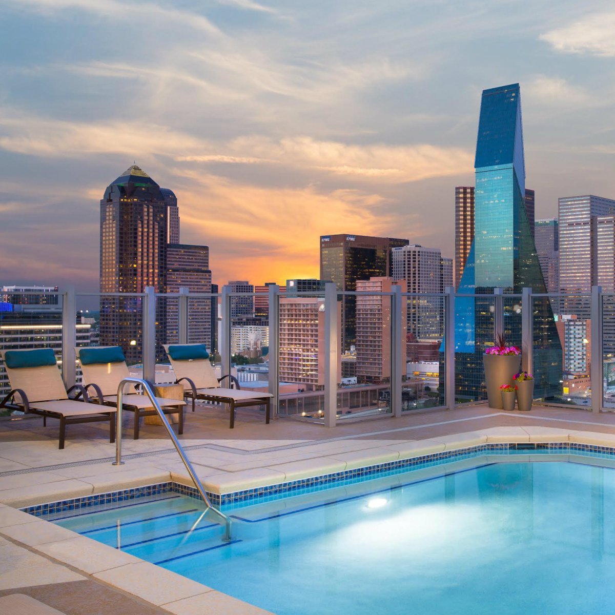 It's All About Skyline Views And Luxe Living At This