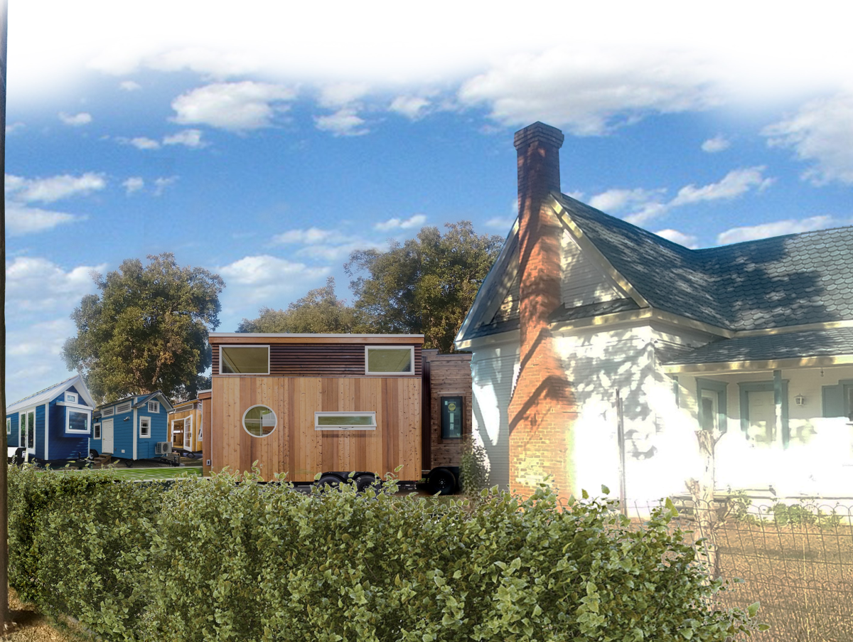 Outstanding Innovative Tiny Home Village Breaks Ground In Town North Of Interior Design Ideas Apansoteloinfo