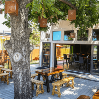 Revelry Kitchen + Bar patio