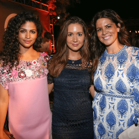 Rh Austin opening party Restoration Hardware 2016 Camila Alves Camille Styles Katie Kime