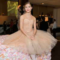Ballerina Emelia Perkins at Museum of Fine Arts Grand Gala Ball