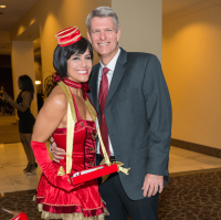 Adele Hartland, Jason Herbert at Mission of Yahweh gala