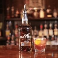 Golden Fashioned by Houston bartender Megan Blakeway