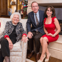 Celebration of Reading Author Reveal and Holiday Soirée-Barbara Bush, Neil and Maria Bush