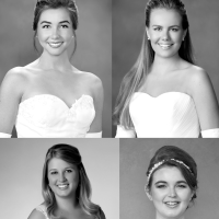 Collage of Houstonians at International Debutante Ball