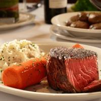 Prime filet at Bob's Steak & Chop House