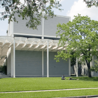 The Menil Collection, side view