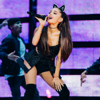 Ariana Grande at Houston Rodeo