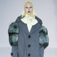 Lady Gaga at Marc Jacobs fall 2016 show