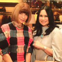 News, Shelby, Anna Wintour and Katherine Le, Oct. 2015