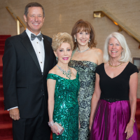 News, Shelby, Houston Symphony Opening Night, Sept. 2015, David Wuthrich, Margaret Williams, Vicki West, Janet Clark