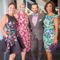 Houston, Woman's Hospital of Texas Labor Day Luncheon, August 2015, Rebecca Matthews, Ashley McClellan, Todd Ramos, Gina Gaston Ellie