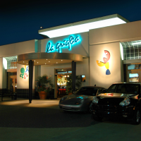 La Griglia Houston exterior at night