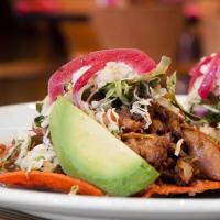 Acenar Mexican Restaurant tacos plate