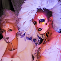 Leather and Laces Presents Vampires and Vixens Ball costumes