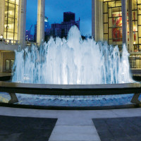 News_Fashion Week_Fall 2011_Lincoln Center_Revson Fountain